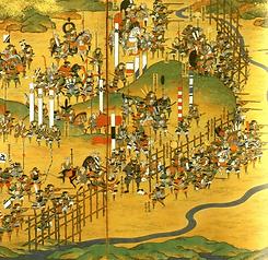 batalla-de-nagashino-1575-dibujo-japones