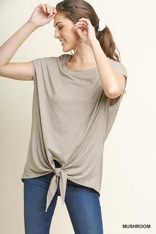 Pin-Tuck Sleeve Top