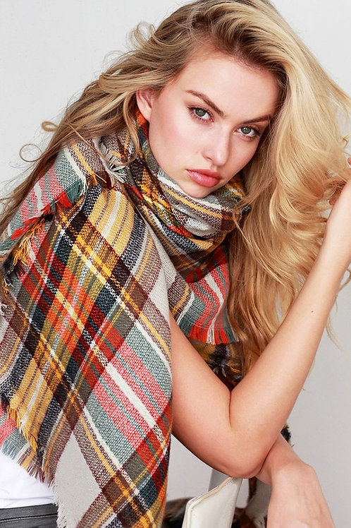 All About Fall Blanket Scarf