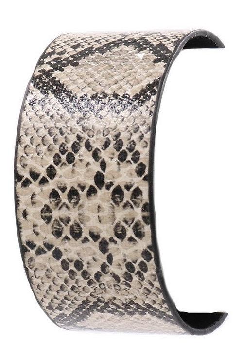 Snake Print Cuff