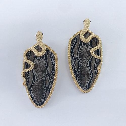 Drop Snake Earrings