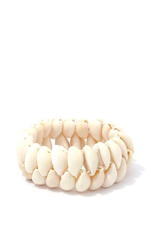 Cowrie Seashell Bracelet