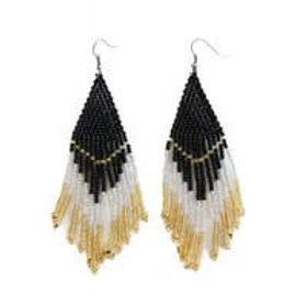Caviar Beaded Earrings