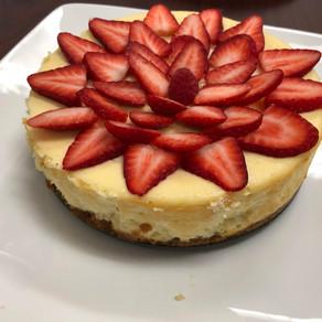 Strawberry Cheesecake and Holiday Cheer