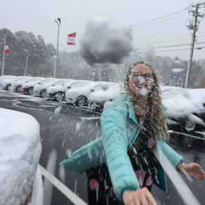 It's Snowing in Dixie!!