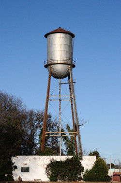 Water tower in Opelika