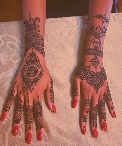 Henna Chai Session-Large