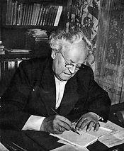 Andersen Nexoe - Martin 1954 ved skriveb