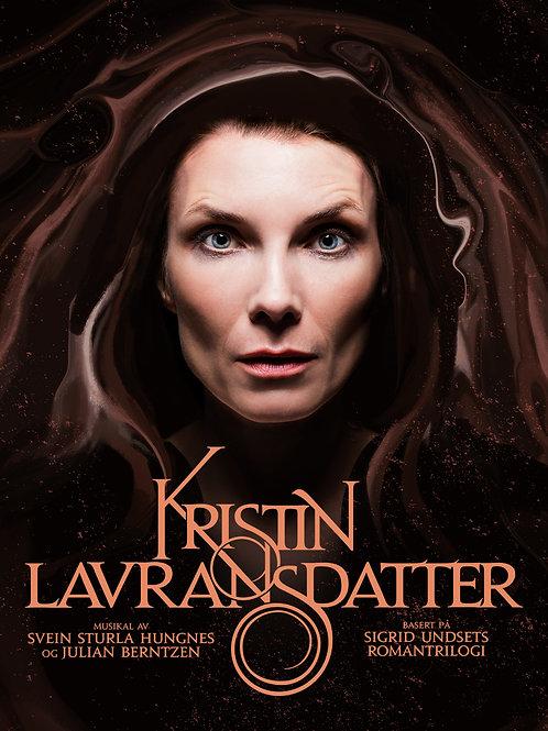 Notebok til musikalen Kristin Lavransdatter