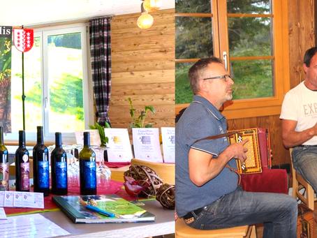 Winetasting und Ländlermusik am 4. September 2021