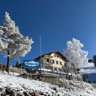 Berggasthaus Eggberge Winter