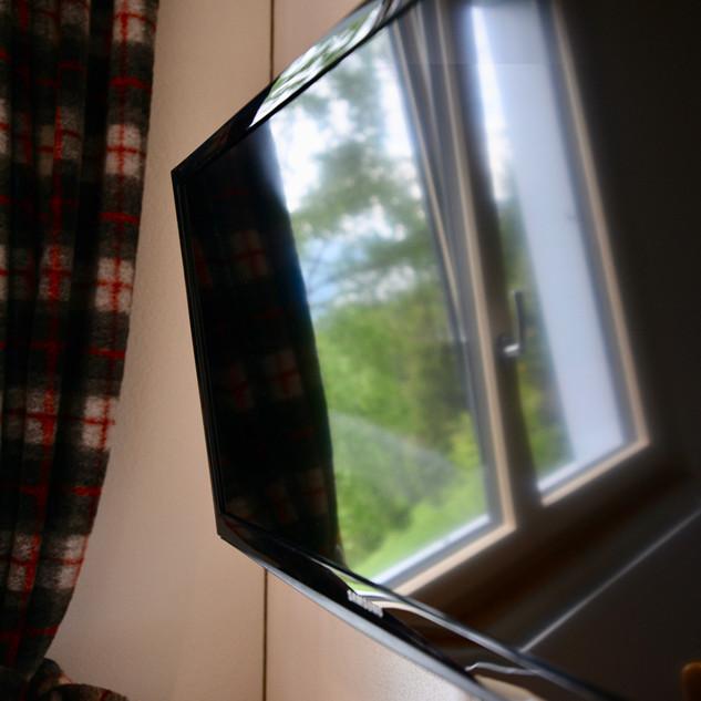 Fernsehen im Chalet Zimmer