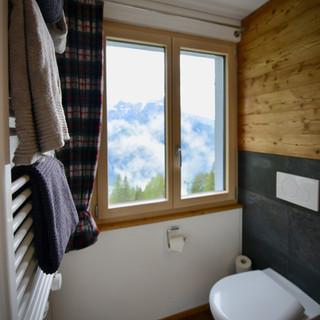 Badzimmer mit Aussicht