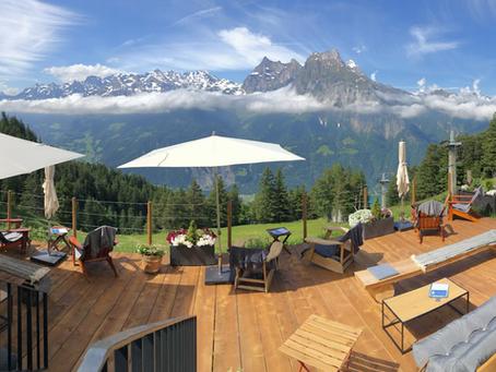 neue Indigo Lounge offen | perfektes Wetter | aussen keine Covid Restriktionen mehr