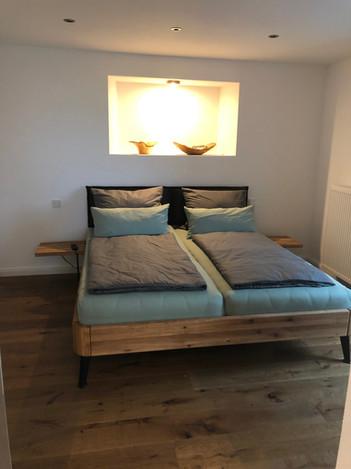 Maße des Bettes: 1,80m x 2,00 m