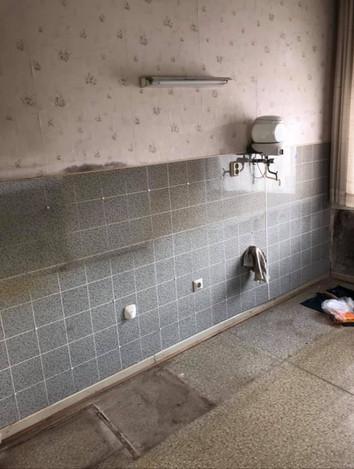 Hier befand sich vor dem Umbau die Küchenzeile