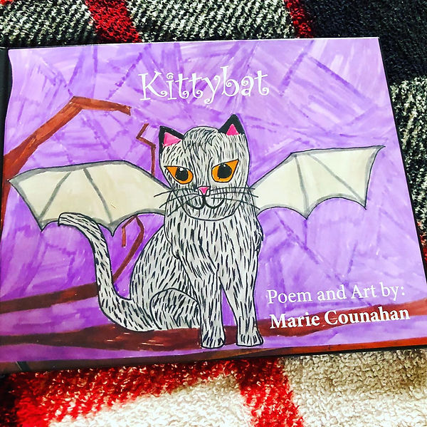 """Kittybat"" by Marie Counihan"