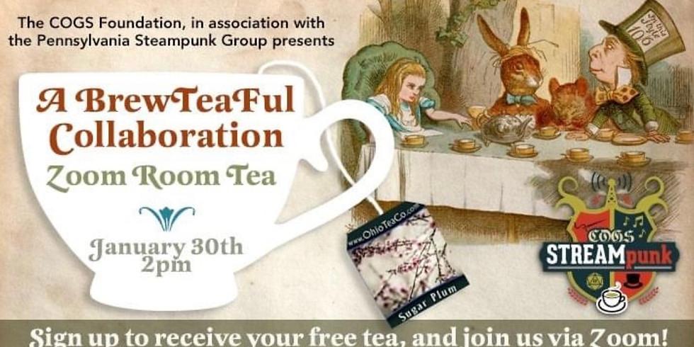 Steampunk Virtual Tea