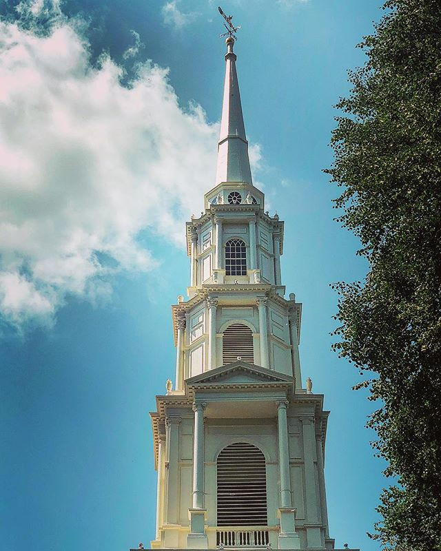 Historic Boston Steeple