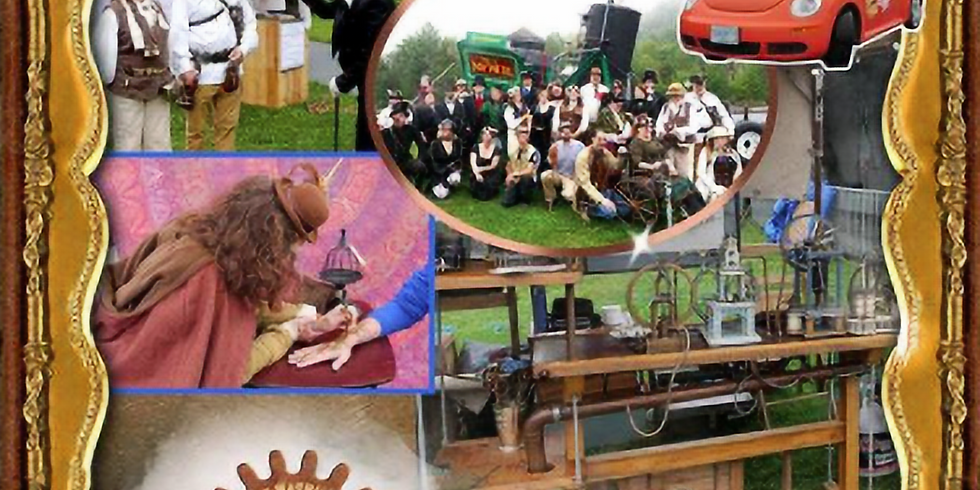 Railway to the Moon Steampunk Festival