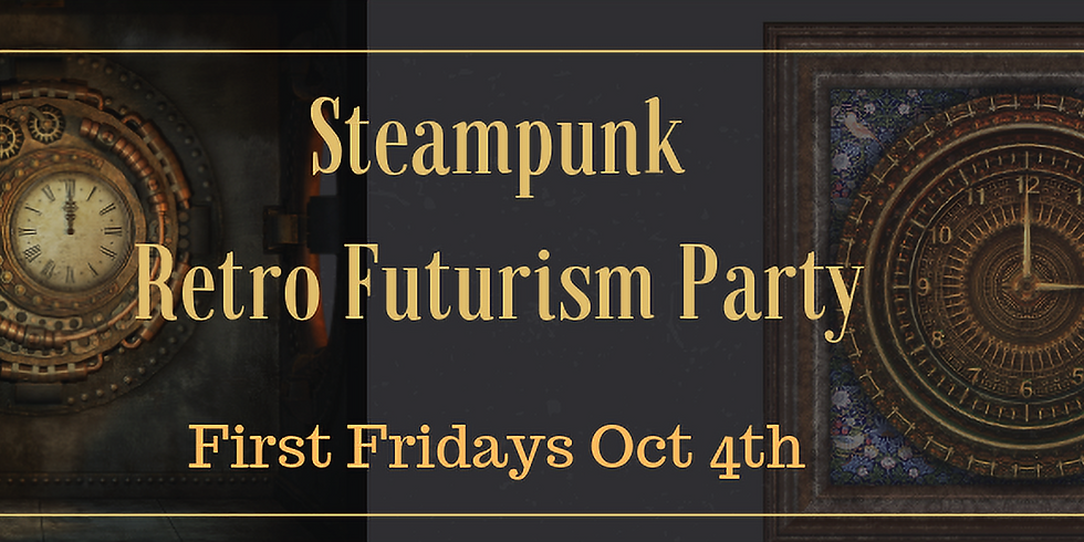 Steampunk Retro Futurism Party