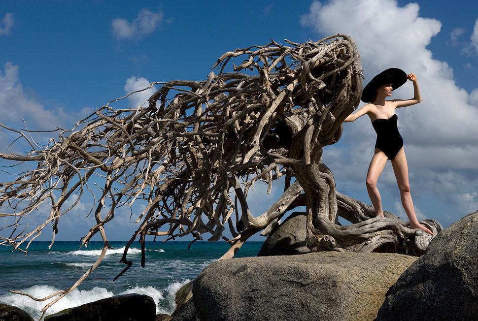 Cicely Hide&Chic Aruba 2007 styling Jaap Mark de Jong