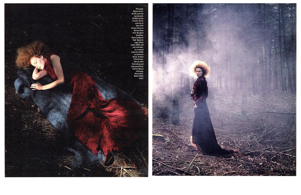 Mijke Delui  New York Times Magazine  The Netherlands 1997 styling Frans Ankone