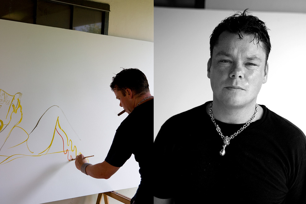 David Bade  Curaçao 2008