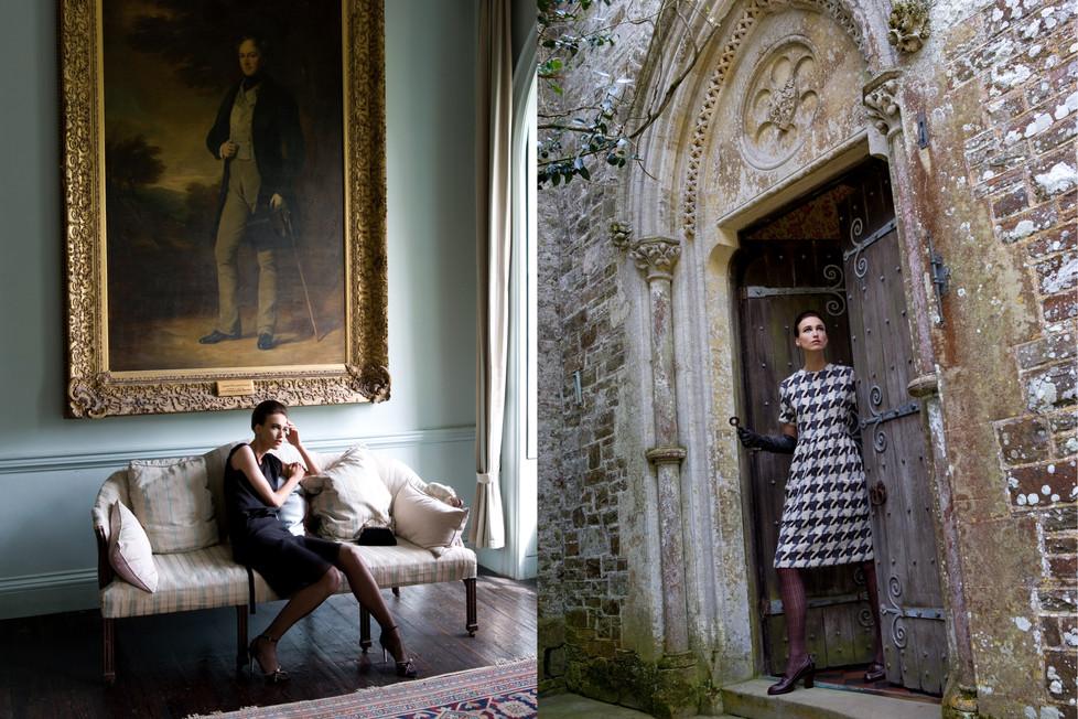 Sylvia van de Klooster Elegance Cornwall, UK 2006 styling Manja Magnin