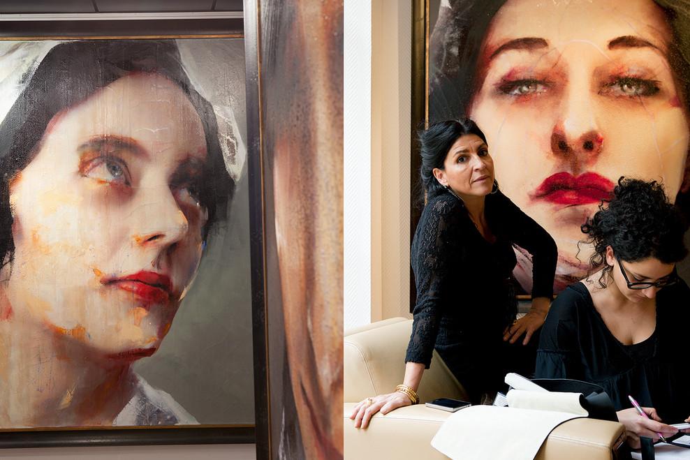Lita at Opéra Gallery.  Paris 2012