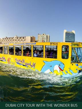 DUBAI CITY TOUR WITH THE WONDER BUS EROS