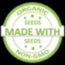 NuLeaf -ORGANIC -Non-GMO Clip Art (white