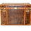Thumbnail: 20th Century Refurbished Leather Trunk