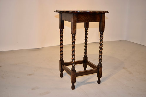 Oak Occasional Table, c. 1900