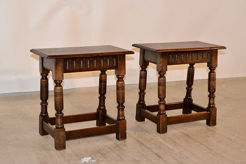 Pair, Joint Stools
