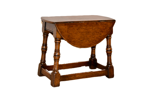 19th C. English Small Dropleaf Table