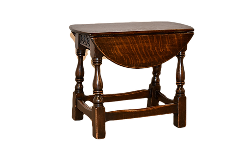 19th C. Small Drop-Leaf Table