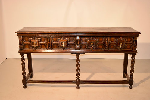19th C. Geometric Sideboard