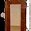 Thumbnail: European Tramp Art Mirror, Dated 1864