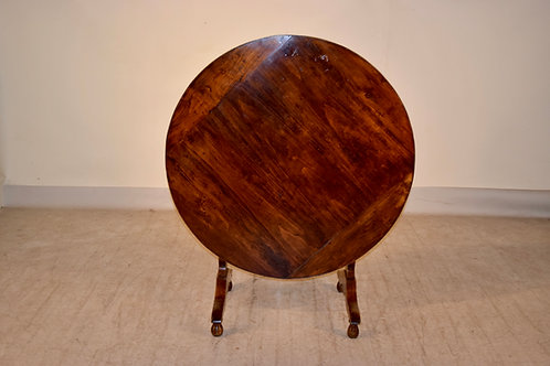 19th C. French Wine Table