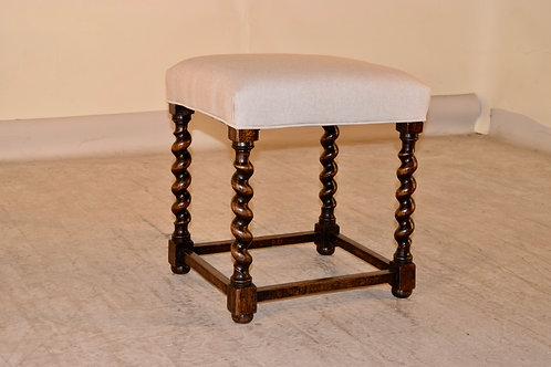 19th c. Barley Twist Stool