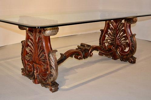 Italian Hand-Painted Coffee Table