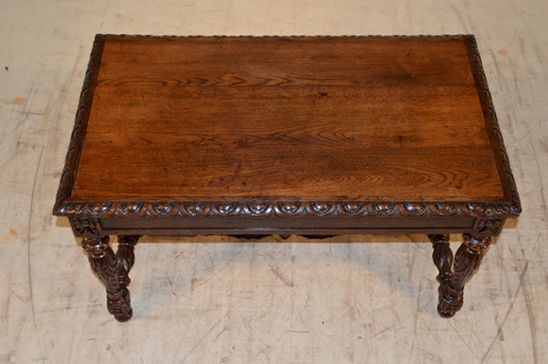 Nice Carved Coffee Table. $ 1,495.00. SKU: Y327. 40.13 W X 23.5 D X 22.75 H