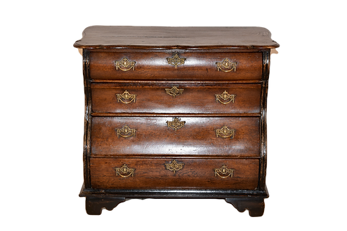 18th C. Dutch Bombe Chest of Drawers
