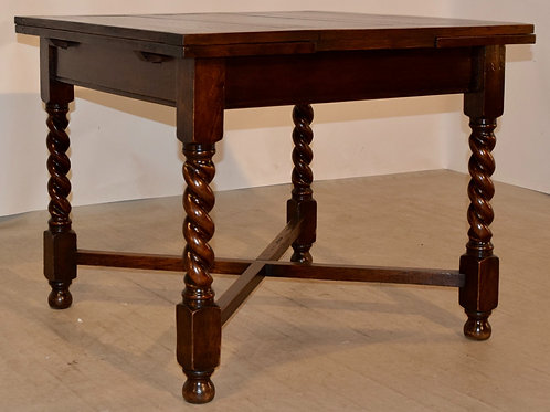 English Draw-Leaf Table, c. 1900