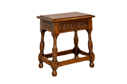 19th C. English Joint Stool