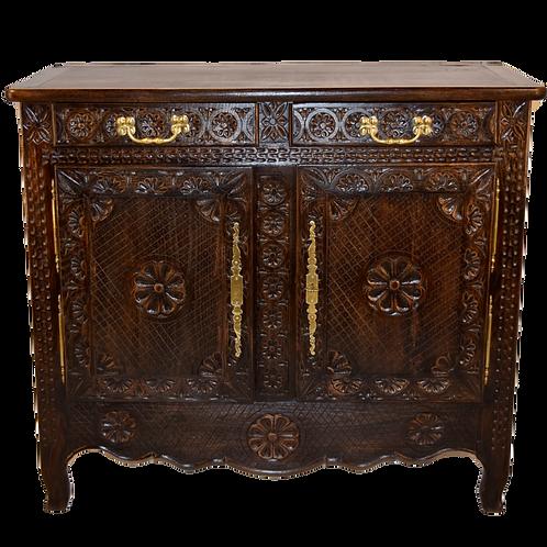 19th C. Breton Cabinet