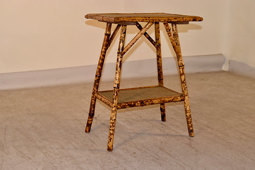 19th c. French Bamboo Side Table