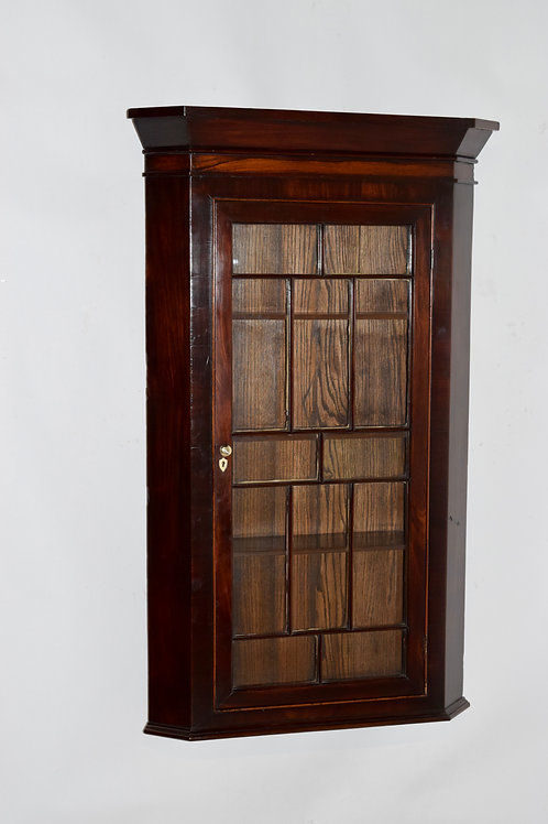 18th-C. English Wall Cupboard