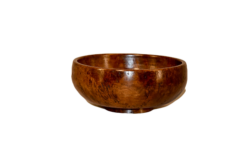 19th C. English Burl Bowl